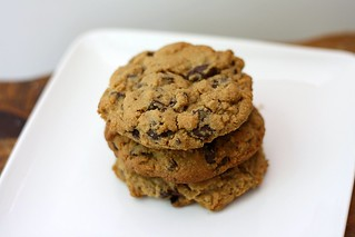Whole Wheat Chocolate Chip Cookies | by Tracey's Culinary Adventures