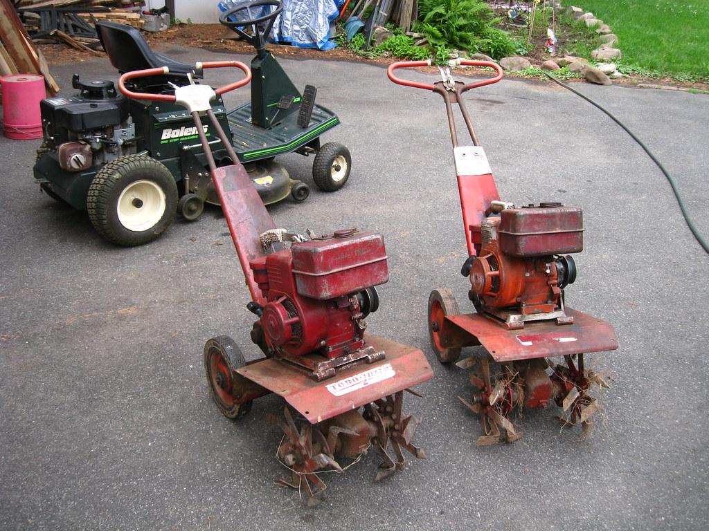 parts vintage rototiller