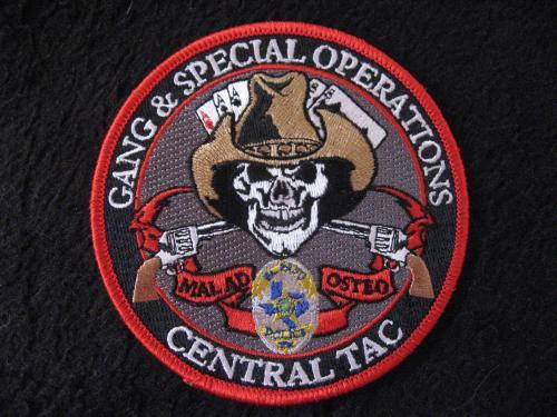 Gang Amp Special Operations Unit El Paso Texas