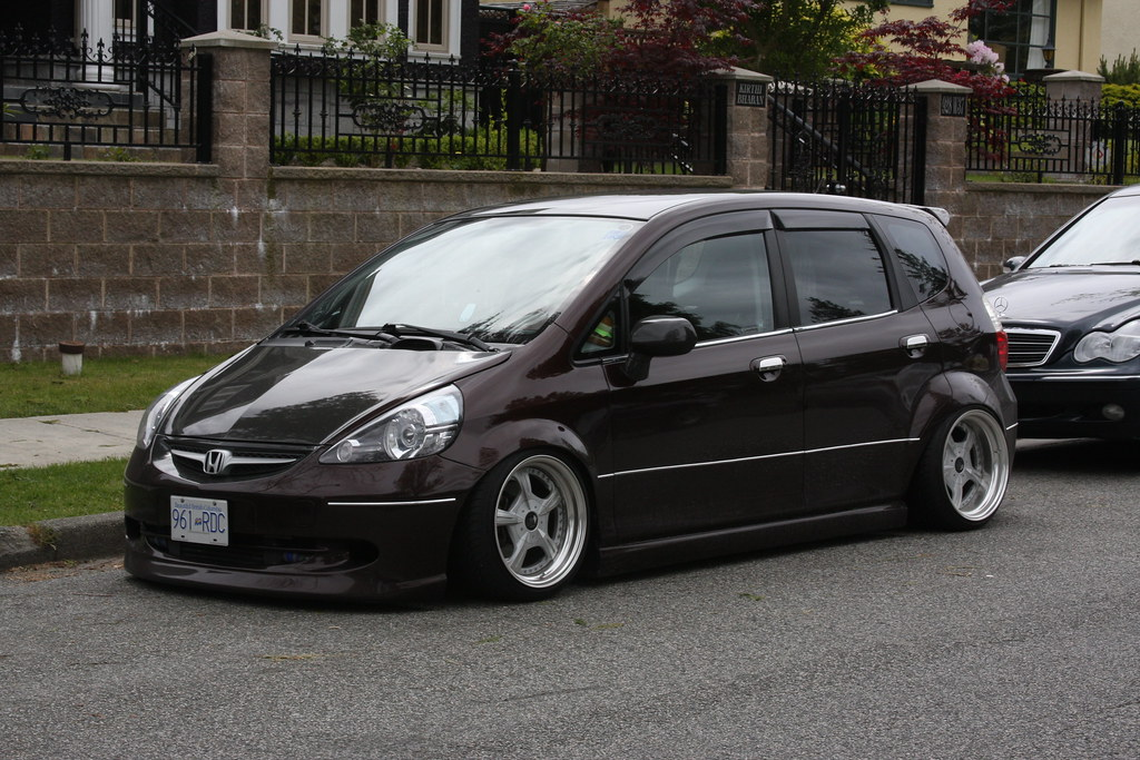 Honda Fit Honda Fit With Body Kit Dave 7 Flickr