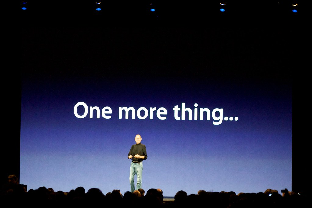 Image result for one more thing