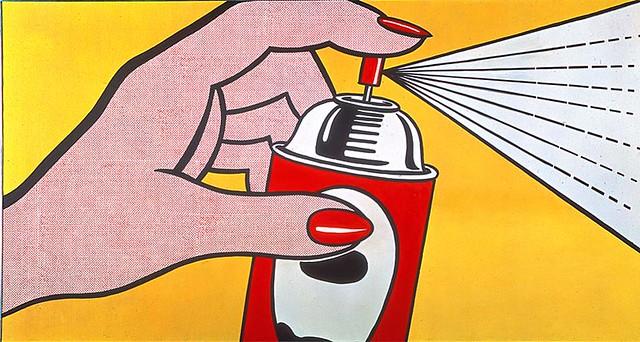 Roy lichtenstein 1962 spray oil on canvas 91 x 173 cm - Pop art roy lichtenstein obras ...