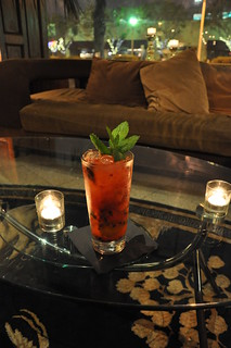Pomegranate Mojito at Duke's Bar 051610Su | by vmiramontes