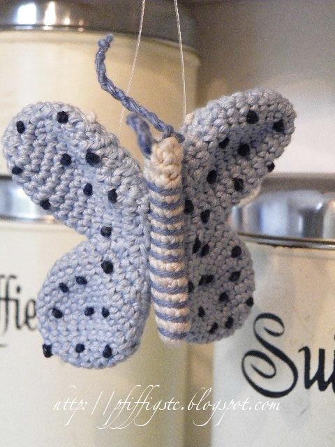 Amigurumi Butterfly Crochet Patterns Free : free pattern - Schmetterling Butterfly amigurumi Hakelblog ...