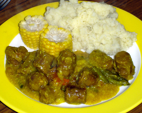 Curried sausages with vegie's!! (dinner) | by Michelle ~ Blacky ~ Champaz's Captures....