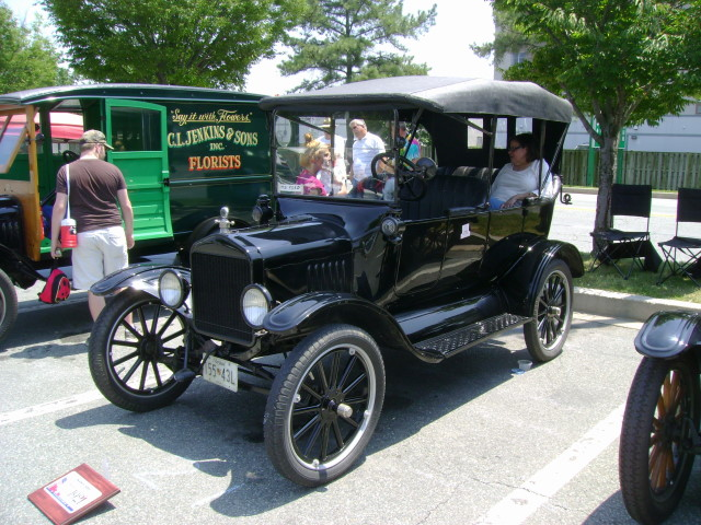 1921 Ford Model T Maryland Motor Vehicle Administration