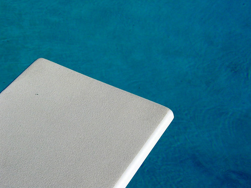 Blue Water Pool Diving Board Brandon | by cdsessums