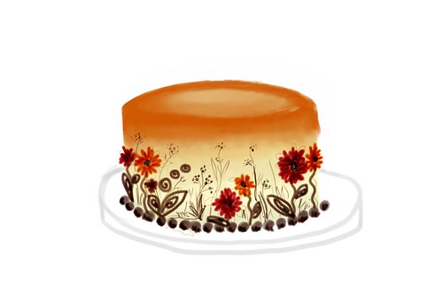 Fall cake 3 | by Tandoori