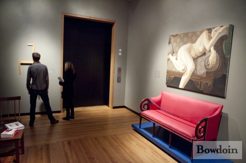 Bowdoin College Museum Of Art  Female Nude Reclining On -9349