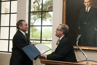 President Lewis M. Duncan and Winter Park Mayor Ken Bradley | by Rollins College