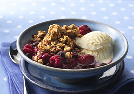 Triple-Berry Granola Crisp | by Cascadian Farm