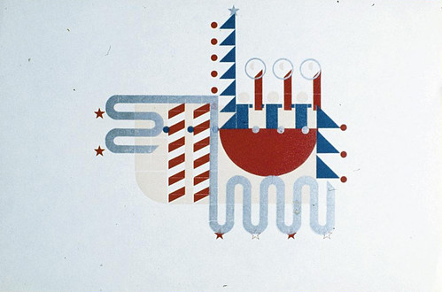 Alvin Lustig christmas card 1940 | by leiris202