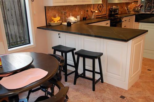 White Bar Stools For Kitchen