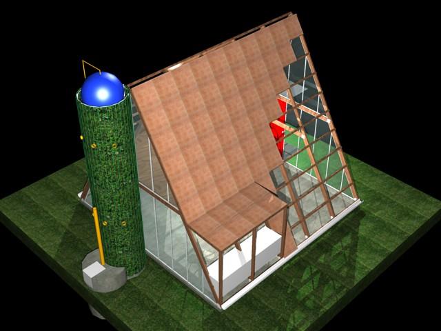 Casa ecol gica prefabricada img 13 el art fice i igo - Casa prefabricada ecologica ...