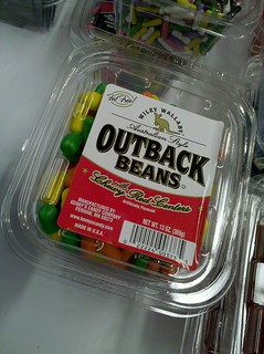 Outback Beans by Wiley Wallaby - a red licorice center with a candy  shell #nasft | by cybele-