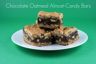Chocolate Oatmeal Almost-Candy Bars (Tuesdays with Dorie) | by Food Librarian