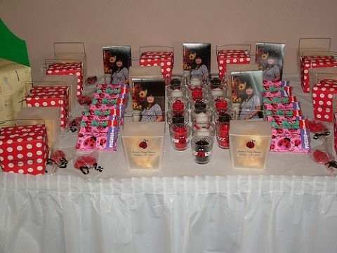 ... Lady Bug Baby Shower Favors | By Tjantnesh