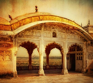 The Taj from Akbar's Palace | by Stuck in Customs