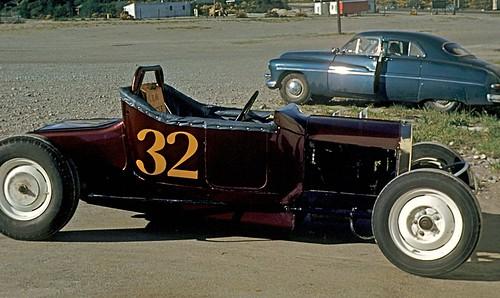 Roadster, Aurora Speedway, Seattle, 1950.
