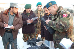 Turkish officer trains Afghan National Police and Afghan National Army | by EUCOM