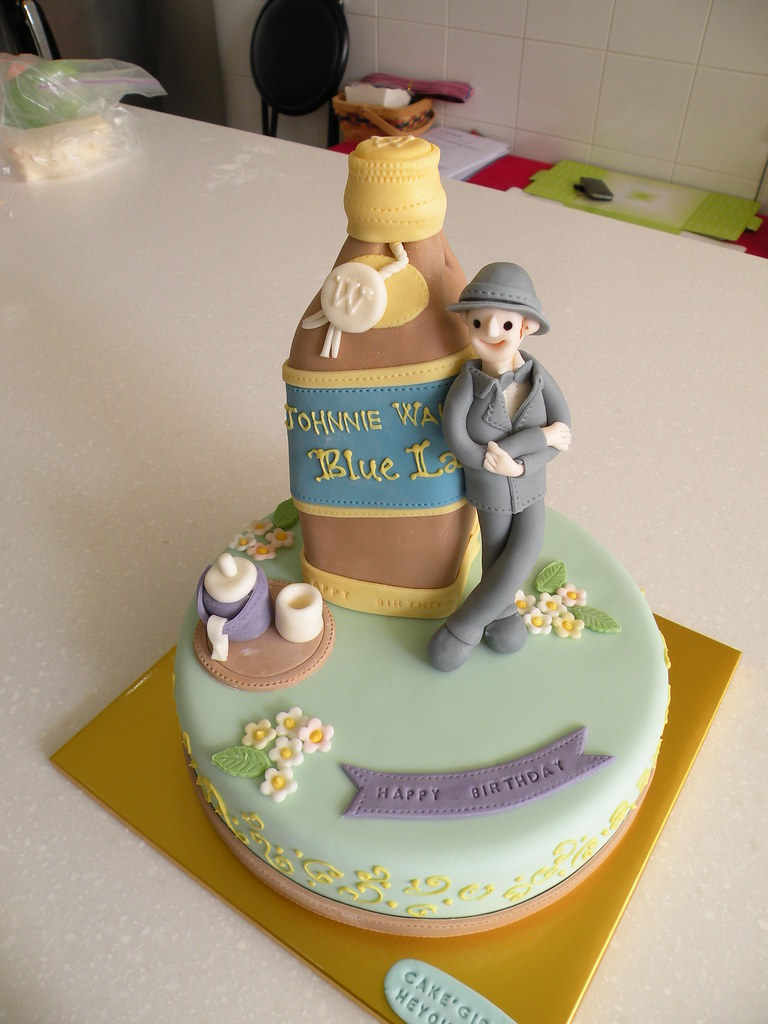Johnnie Walker Cake Designs