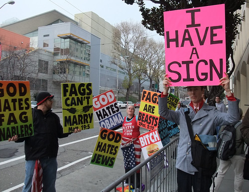 I HAVE A SIGN-Westboro Baptist Protest of Twitter | by Sir EDW