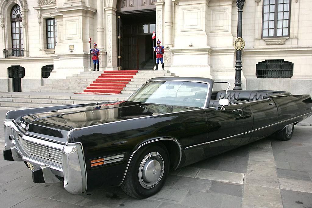 Peruvian Presidential Limousines 4 1973 Chrysler