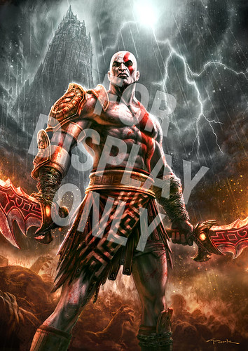 God of War III Gamestop poster | by PlayStation.Blog