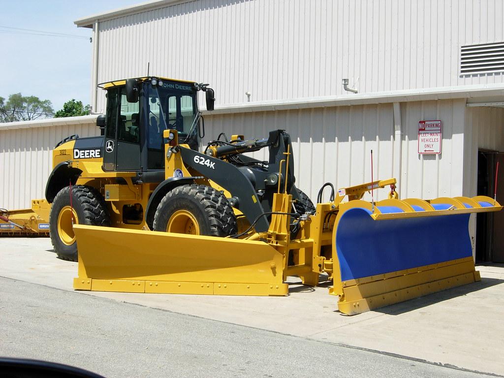 John Deere Snow Plow : Kenosha wi snow plow loader a brand new john deere