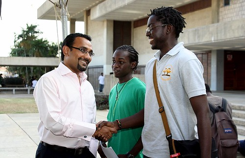 UWI launches Global Citizenship Dialogues - International music hitman Neil Prashad backs UWI for Haiti | by The University of the West Indies