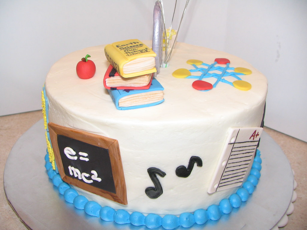 English Teacher Birthday Cake