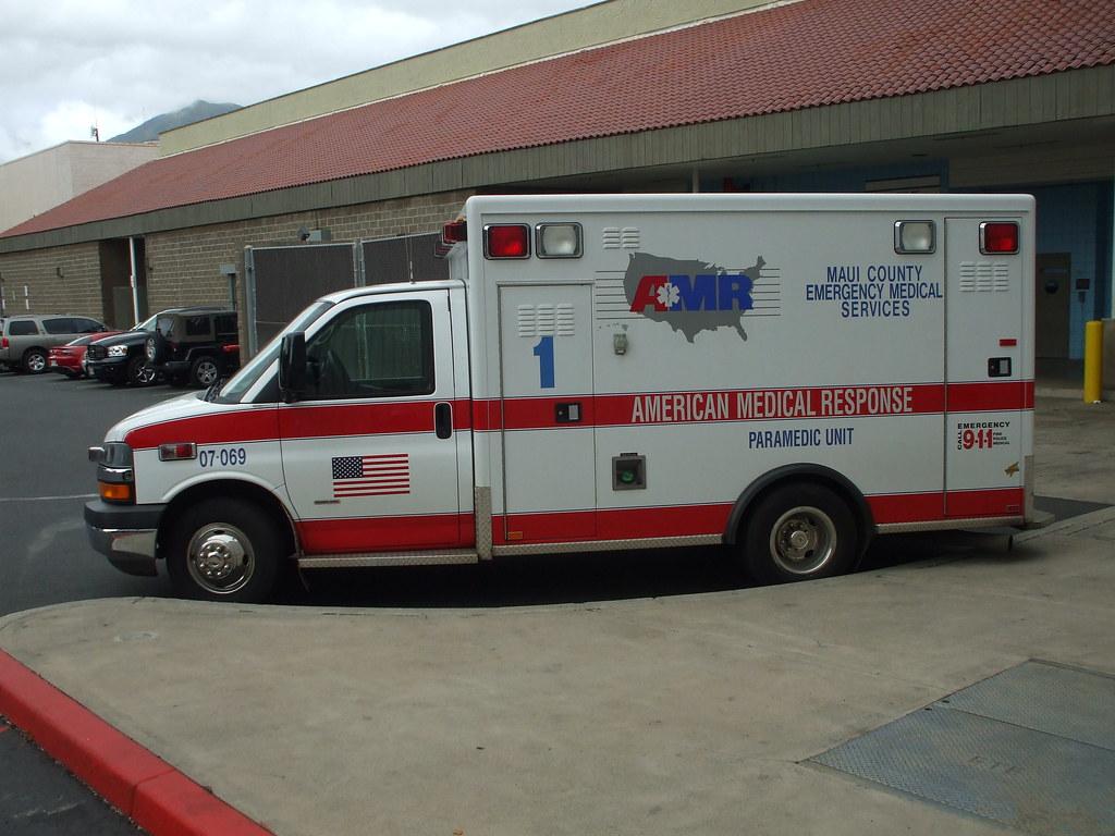 American Medical Response Ambulance | MODEL NAME: (Chevrolet… | Flickr