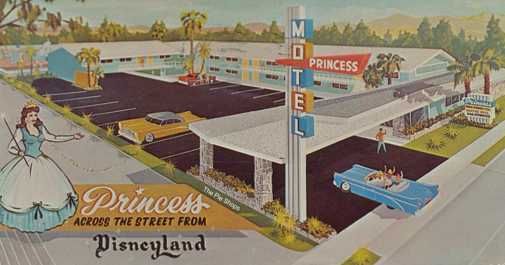 Princess Motel - Anaheim, California