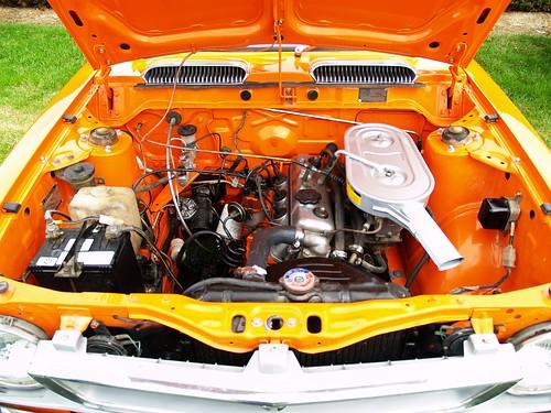 1973 Toyota Corolla Ke25 Engine Bay Retro Classics