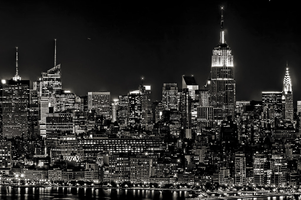 ... The Lights Of New York City   By Mudpig