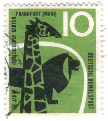 Germany postage stamp: zoo | by karen horton
