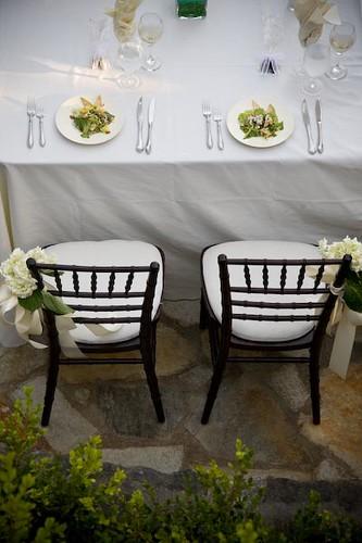 Bride And Groom Table Bride And Groom Table Setting