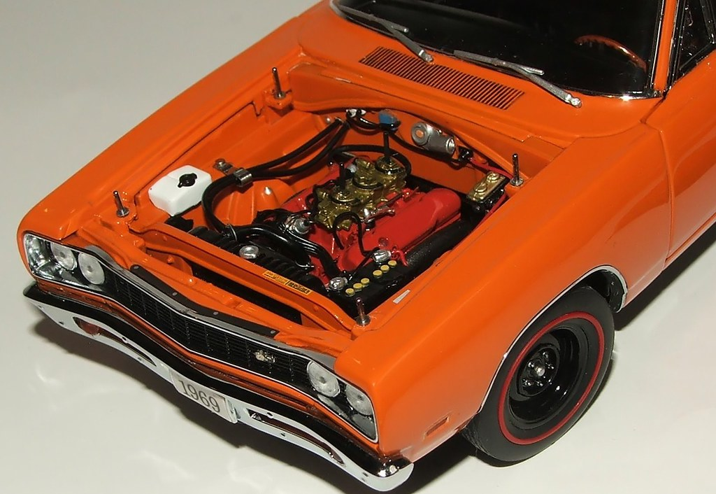 1 24 Danbury Mint 1969 Dodge Super Bee 440 Six Pack A12