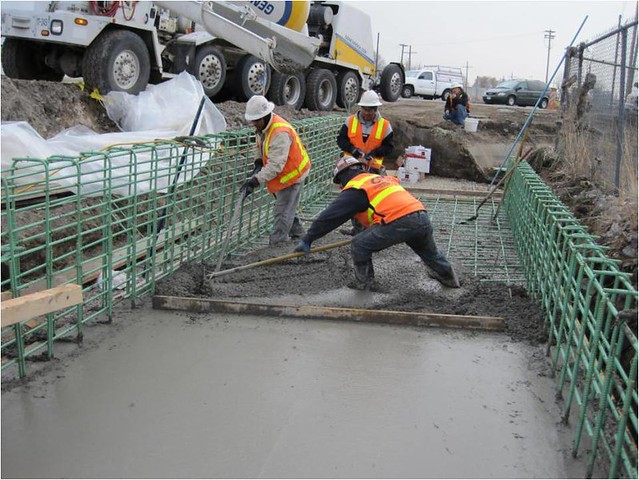 cast in place box culvert construction in lehi frontrunne flickr