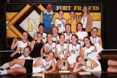 Jr. Girls Volleyball 0203