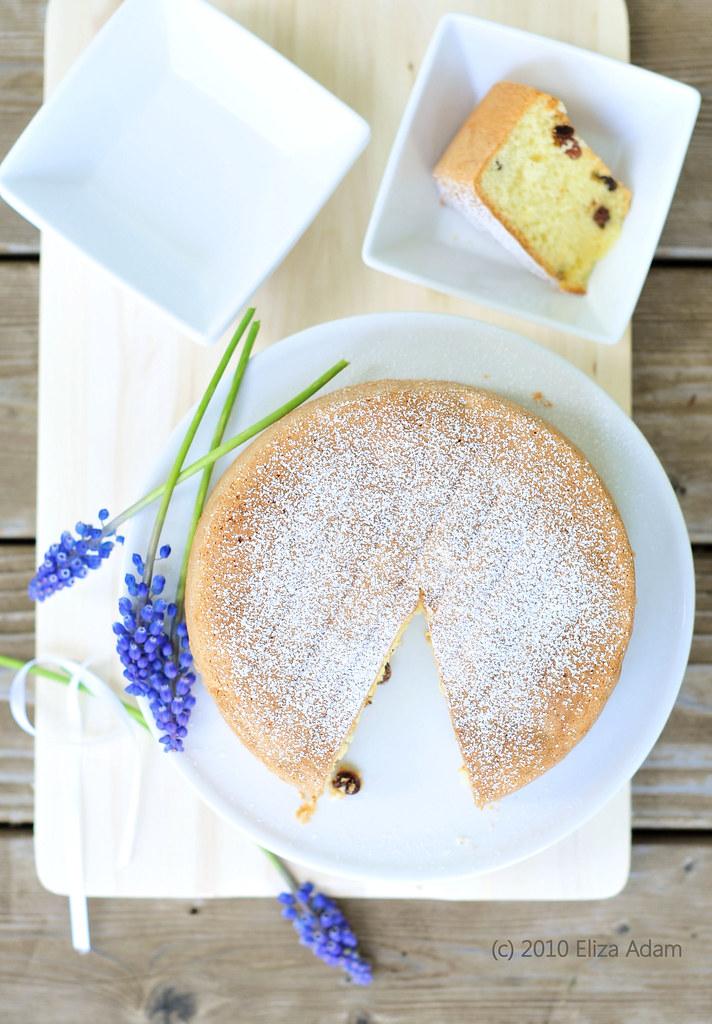 Rum Sponge Cake Recipe