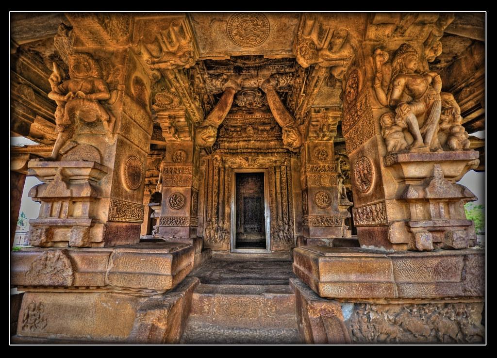 Interiors Durga Temple Aihole The Durga Temple At