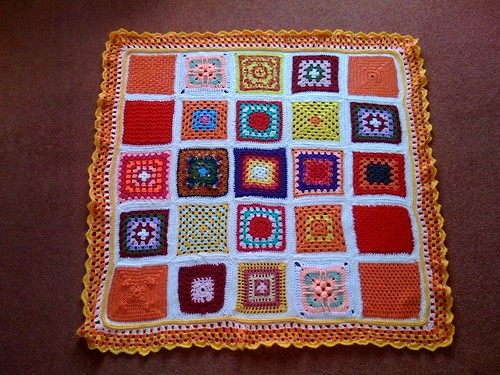 Okay Ladies! Ready to play the 'SIBOL' Board game again!  Please 'add note' to your Square and let's see if we can shout 'House!'.   'The Citrus Blanket of Love' named by  shiloandspieky. | by MRS TWINS/SIBOL 'Sunshine International Blankets