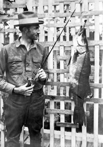 Fisherman with catch | by State Library and Archives of Florida