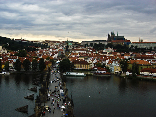 Prague from the top | by Duda Arraes