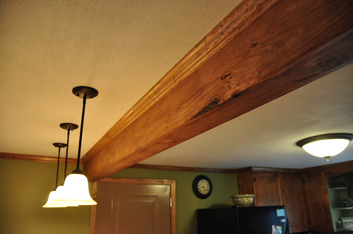 Pine Wrapped Lvl Beam W Pine Crown Molding Steve Erwin