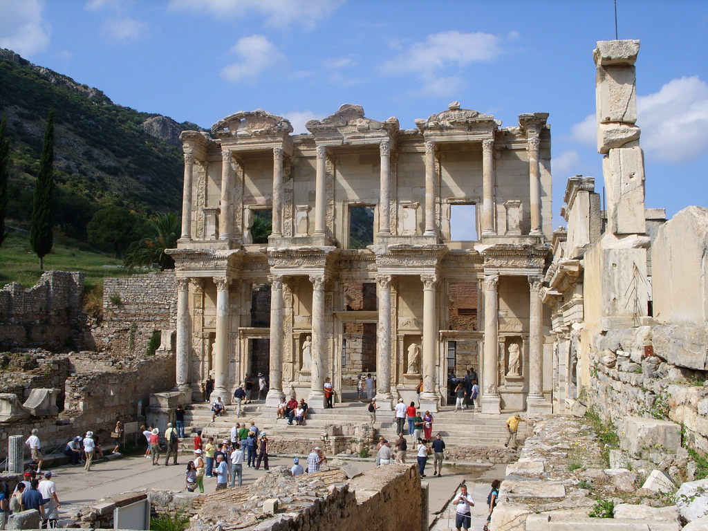 library of celsus reconstruction check out library of