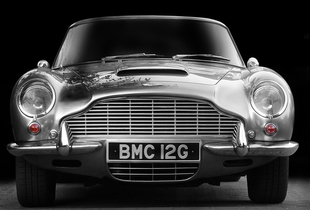 Classic Aston Martin Db6 Volante Front View Best Viewed Flickr