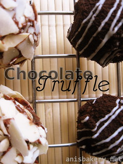 chocolate truffle | by AnisBakery.net