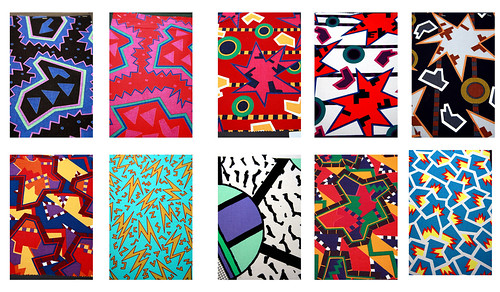Du pasquier fabric designs according to the 1985 memphis for Memphis milano